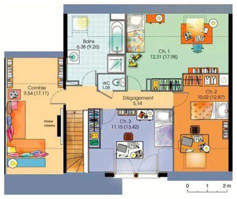 Villa Prisme Plan De Cagne by Plan Maison 2 Etages Moderne