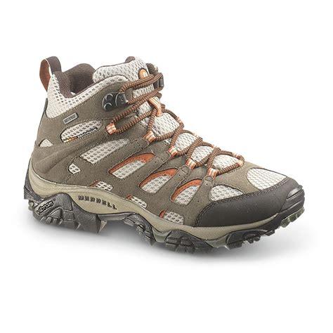 womans outdoor boots s merrell waterproof moab ventilator mid hiking