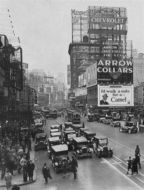 New York City.   Times Square in the 1920s   kimberly   Pinterest   New york, Stock market and 1920s