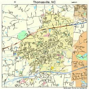 thomasville map thomasville carolina map 3767420