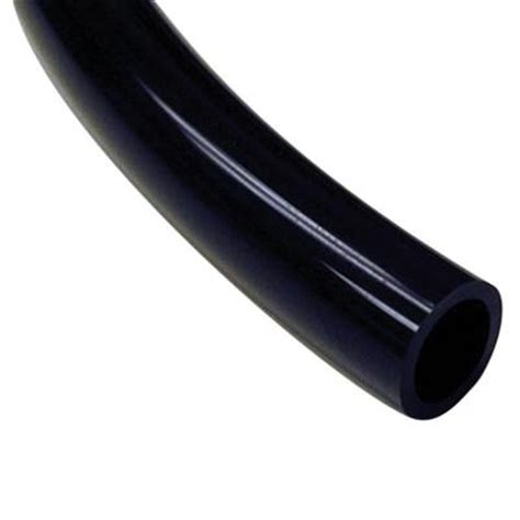 sioux chief 1 2 in x 3 8 in x 20 ft black pvc tubing