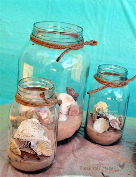 themes in the glass jar beach birthday party bless this mess