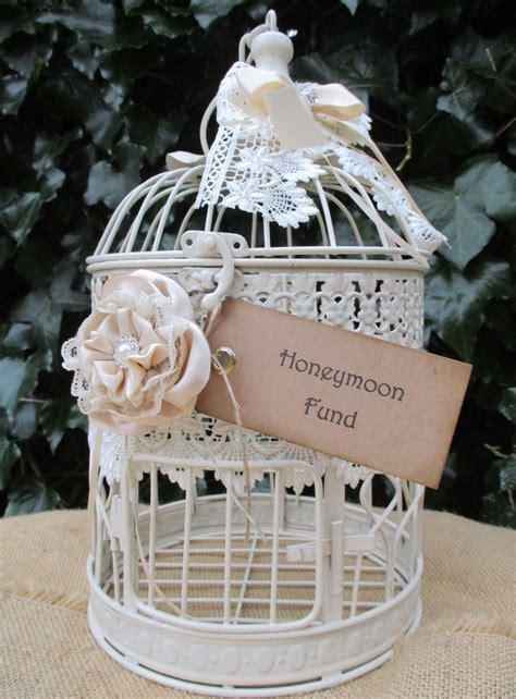 wedding post box birdcage birdcage wedding card post box honeymoon fund