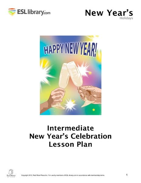 new year celebration lesson plan new year new you collection lesson planet