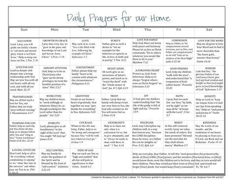prayer calendar template 9 best images of free printable daily prayers free