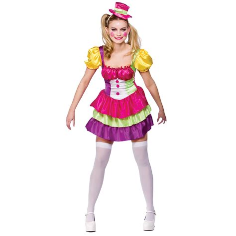 Tarty Costumes by Womens Clown Circus Fancy