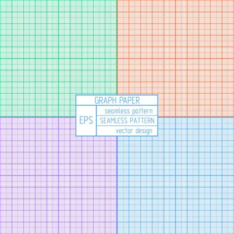 printable graph paper colored coloured graph paper pattern vector free download