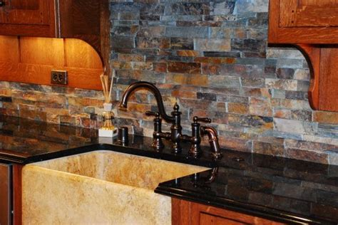 favorite  kitchen backsplash ideas  oak cabinets  pictures alinea designs