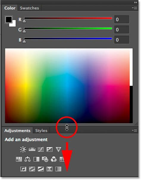 color panel the improved and enhanced color panel photoshop cc 2014