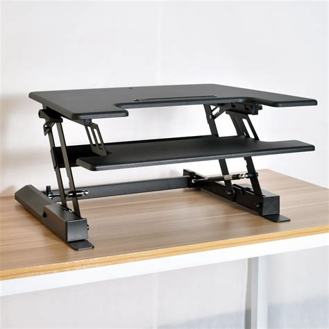 Adjustable Height Stand Up Desk Computer Workstation Lift Adjustable Height Computer Desk Workstation