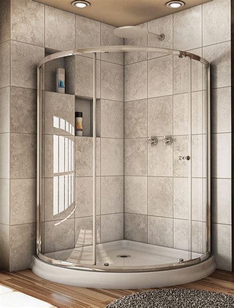 Capri Arc 3 Round Sliding Door Artistcraft Com Rounded Shower Doors