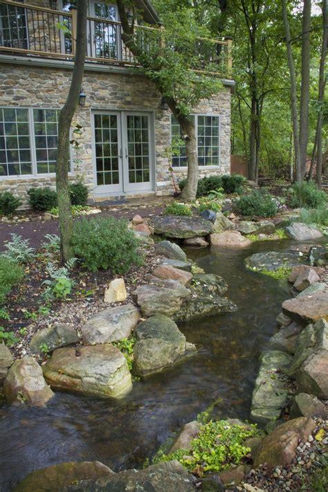 backyard creek 25 best ideas about backyard stream on pinterest