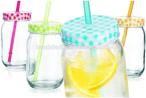 colorful jars colorful polka dots jar beverage cups clear glass
