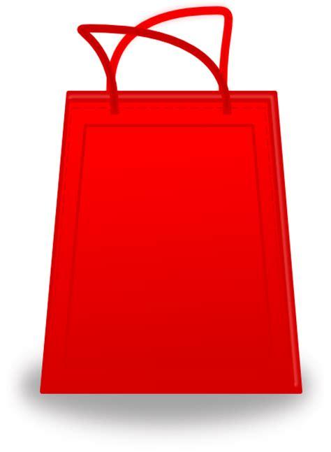 shopping bags red shopping bag clip art at clker com vector clip art
