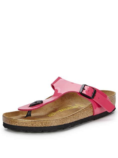 birkenstock gizeh mens sandals birkenstock gizeh toe post sandals in pink for pink