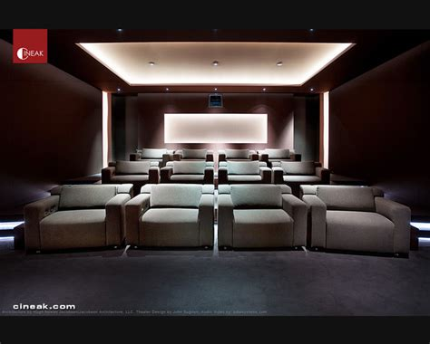 Design Modern Home Theater Exquisite New Media Room Featuring Cineak Strato Seats Modern Home Theater Other Metro