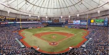 Stadium Wall Mural tropicana field tampa bay rays ballpark ballparks of