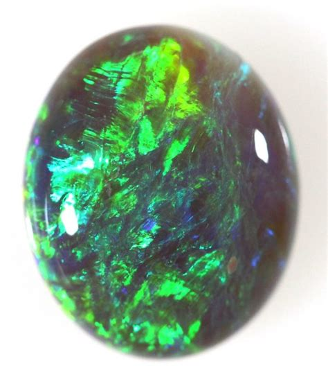 Black Opal 11 93ct 4 93ct solid opal 363 high cabochon