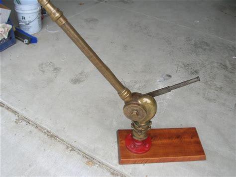 fire boat nozzle a j morse company brass fire boat type nozzle