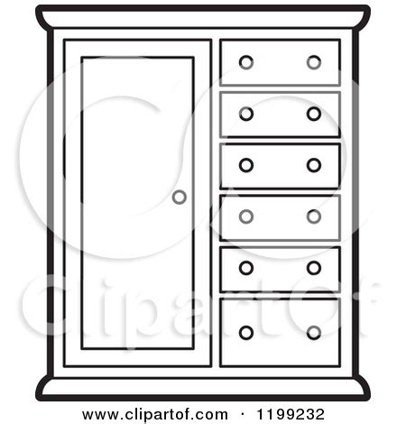 Cabinet Page by Kitchen Cabinet Clipart Black And White Collection