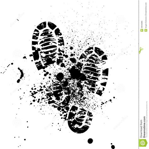 running shoe prints running shoe print clipart clipart suggest