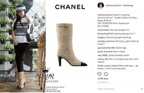 Harga Suede Satin tak cuma bertabur swarovski 5 koleksi sepatu boots