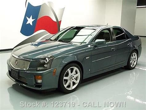 car manuals free online 2006 cadillac cts v electronic toll collection 2006 cadillac cts power sunroof manual operation purchase used 2006 cadillac cts v 6 spd