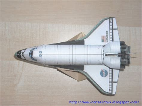 Papercraft Space Shuttle - large space shuttle paper models pics about space