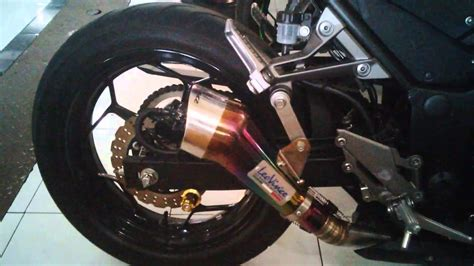 Knalpot R 15 Rainbow 250 fi abs se knalpot leovince cobra rainbow fullsystem motoralap exhaust