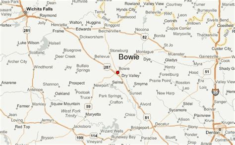 where is bowie texas on a map bowie texas location guide