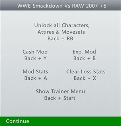 download game bima x mod unlock all character teamxpg wwe smackdown vs raw 2007 5 trainer tu1 xpg