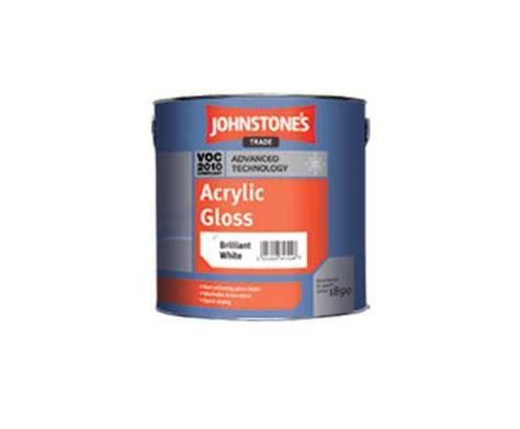 acrylic paint johnstones acrylic gloss johnstone s trade esi interior design
