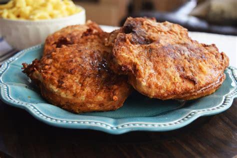 fried chops southern fried pork chops