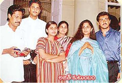 actor ajith and family actor ajith family photos 2016