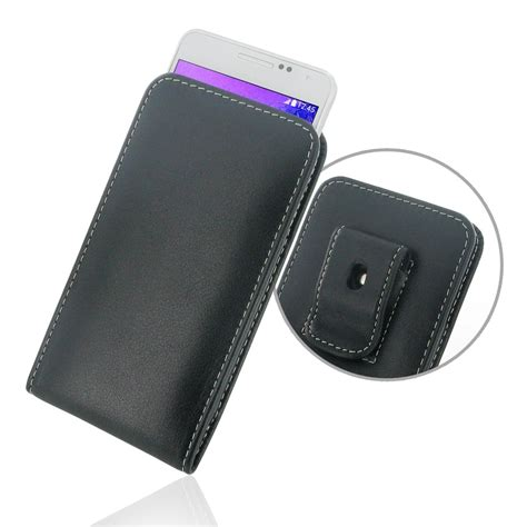Leather Samsung Galaxy Alpha samsung galaxy alpha pouch with belt clip pdair