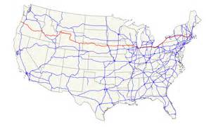 us map w major highways u s route 20