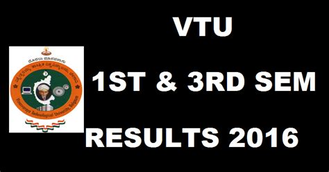 Mba 1st Sem by Vtu Mba Results 2016 For 1st 3rd Semester Vtu Ac In