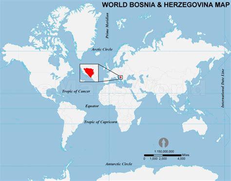 where is bosnia on a world map bosnia herzegovina location map location map of bosnia