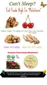 Food Before Bed Eat Foods High In Melatonin To Get Some Sleep