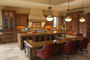 Large Custom Kitchen Islands 27 Luxury Kitchens That Cost More Than 100 000 Incredible