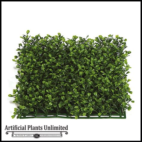 Artificial Topiaries - indoor artificial boxwood mat squares artificial hedge mats