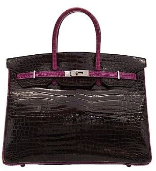 Heermes Shoper 1 Set louis vuitton s 55k alligator skin city steamer bag to