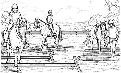 coloring pages of horses jumping coloring pictures of horses and ponies littlest pet shop