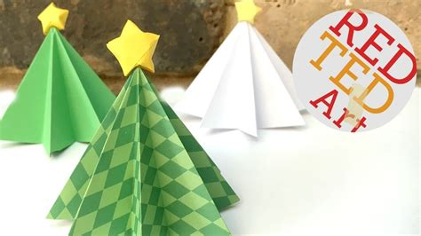 How To Make A 3d Paper Tree - origami tree diy 3d paper diys