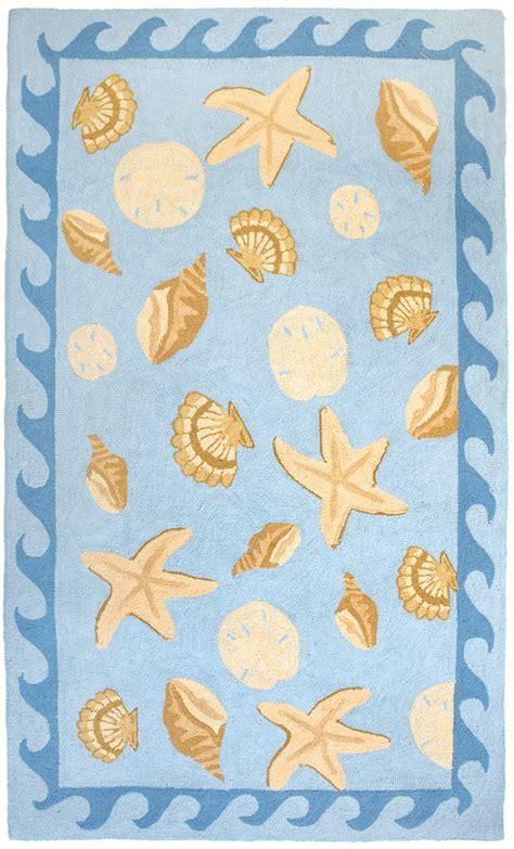 seashell rug sanibel rug