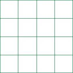 Empty Grid Math Forum Multiplying Magic Squares 4x4 Blocks Empty Grid