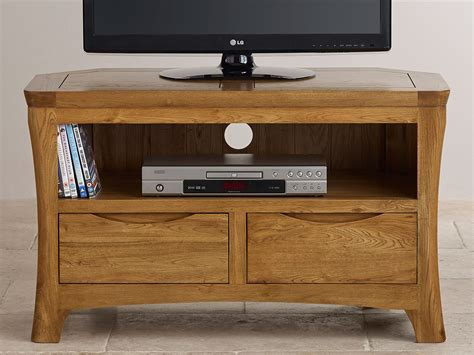 orrick rustic oak tv cabinet orrick rustic solid oak corner tv dvd cabinet