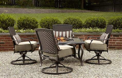 Outdoor Pit Sets La Z Boy Outdoor Mckenna 5pc Pit Chat Set Feedset