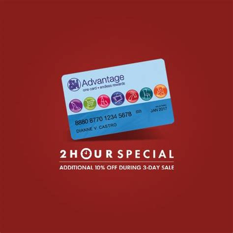 3 Hour Special At Glosscom by Sm Advantage Card 2 Hour Special Additional 10 On