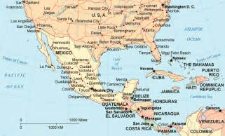 mexico map us